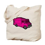 Food Truck: Basic (Pink) Tote Bag