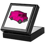 Food Truck: Basic (Pink) Keepsake Box