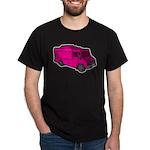 Food Truck: Basic (Pink) Dark T-Shirt