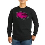 Food Truck: Basic (Pink) Long Sleeve Dark T-Shirt