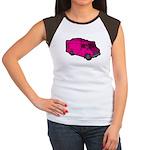 Food Truck: Basic (Pink) Women's Cap Sleeve T-Shir