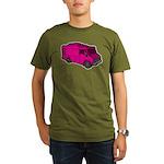 Food Truck: Basic (Pink) Organic Men's T-Shirt (da
