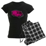 Food Truck: Basic (Pink) Women's Dark Pajamas
