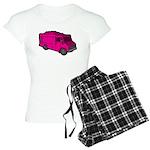 Food Truck: Basic (Pink) Women's Light Pajamas