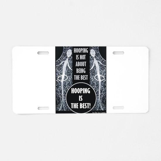 Funny Woodstock Aluminum License Plate