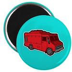Food Truck: Basic (Red) Magnet