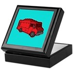 Food Truck: Basic (Red) Keepsake Box