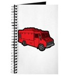 Food Truck: Basic (Red) Journal