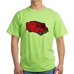 Food Truck: Basic (Red) Green T-Shirt