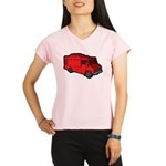 Food Truck: Basic (Red) Performance Dry T-Shirt
