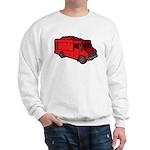 Food Truck: Basic (Red) Sweatshirt