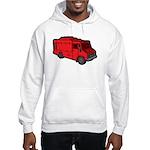 Food Truck: Basic (Red) Hooded Sweatshirt