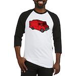 Food Truck: Basic (Red) Baseball Jersey