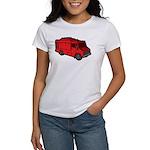 Food Truck: Basic (Red) Women's T-Shirt
