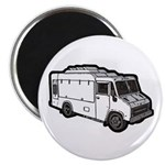 Food Truck: Basic (White) Magnet