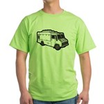 Food Truck: Basic (White) Green T-Shirt