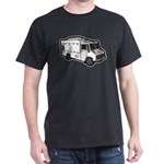 Food Truck: Basic (White) Dark T-Shirt