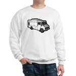 Food Truck: Basic (White) Sweatshirt