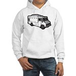 Food Truck: Basic (White) Hooded Sweatshirt