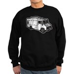Food Truck: Basic (White) Sweatshirt (dark)