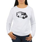 Food Truck: Basic (White) Women's Long Sleeve T-Sh