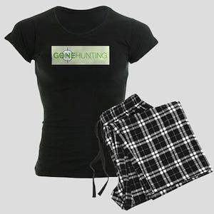 Gone Hunting Women's Dark Pajamas