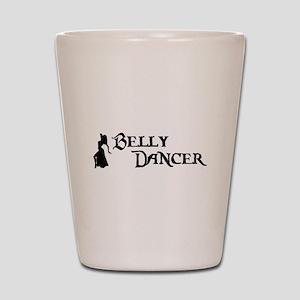 Belly Dancer Pose Shot Glass