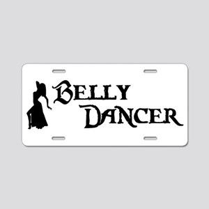Belly Dancer Pose Aluminum License Plate