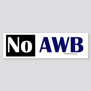 No AWB Bumper Sticker