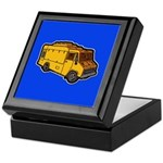Food Truck: Basic (Yellow) Keepsake Box