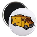 Food Truck: Basic (Yellow) Magnet