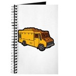 Food Truck: Basic (Yellow) Journal