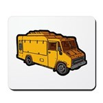 Food Truck: Basic (Yellow) Mousepad