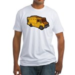 Food Truck: Basic (Yellow) Fitted T-Shirt