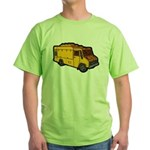 Food Truck: Basic (Yellow) Green T-Shirt