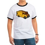 Food Truck: Basic (Yellow) Ringer T