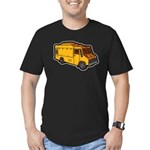 Food Truck: Basic (Yellow) Men's Fitted T-Shirt (d