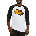 Food Truck: Basic (Yellow) Baseball Jersey
