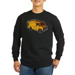 Food Truck: Basic (Yellow) Long Sleeve Dark T-Shir