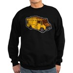 Food Truck: Basic (Yellow) Sweatshirt (dark)