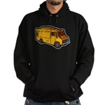 Food Truck: Basic (Yellow) Hoodie (dark)