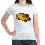 Food Truck: Basic (Yellow) Jr. Ringer T-Shirt
