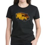 Food Truck: Basic (Yellow) Women's Dark T-Shirt
