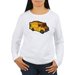 Food Truck: Basic (Yellow) Women's Long Sleeve T-S