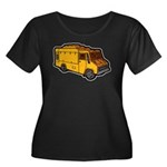 Food Truck: Basic (Yellow) Women's Plus Size Scoop