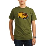 Food Truck: Basic (Yellow) Organic Men's T-Shirt (
