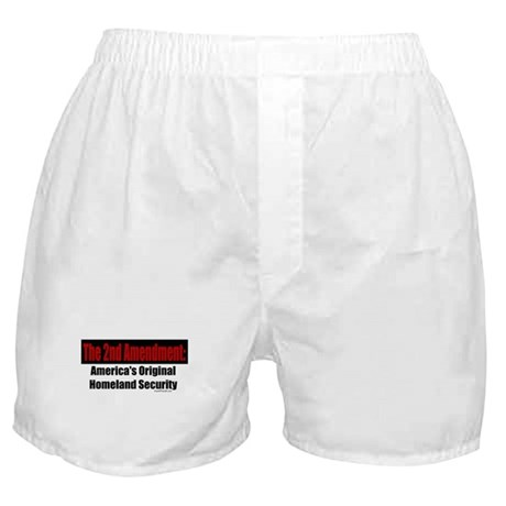 America's Original Homeland Security Boxer Shorts