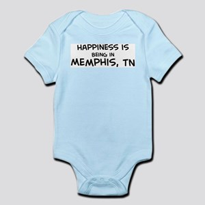 Happiness is Memphis Infant Creeper