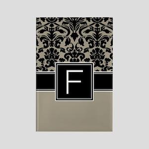 Monogram Letter F Gifts Rectangle Magnet