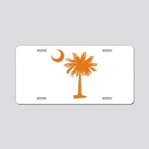 SC Palmetto & Crescent (O) Aluminum License Plate
